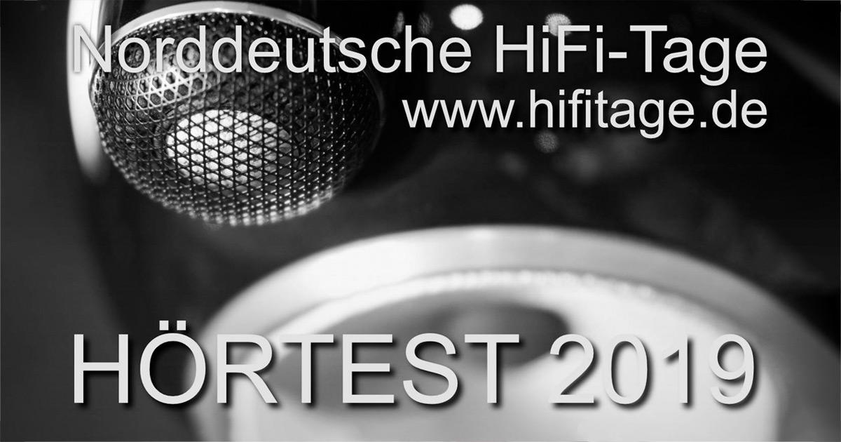 """02.-03.02.: """"Hörtest"""" - Norddeutsche HiFi-Tage 2019"""