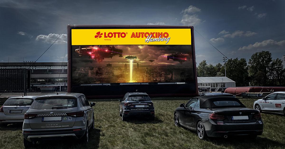 Jackpot: Das LOTTO Hamburg Autokino - präsentiert von ROCK ANTENNE Hamburg!