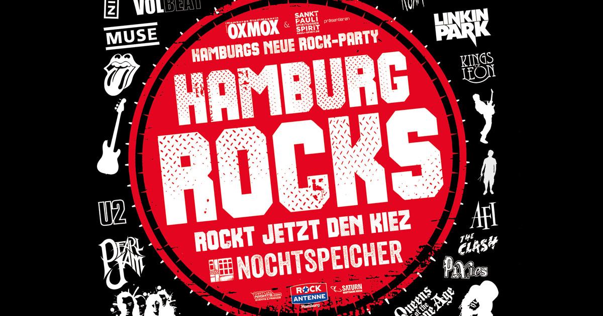 25.01.2020: HAMBURG ROCKS - präsentiert von ROCK ANTENNE Hamburg