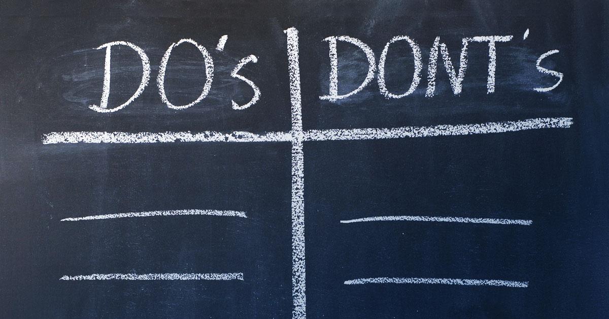 DO's und DON'Ts des Festival-Daseins: So macht Feiern doppelt Spaß