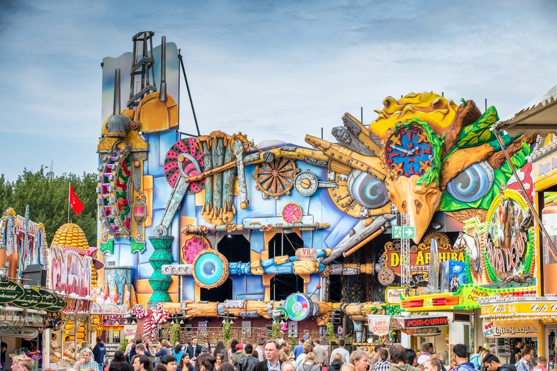 Hamburg feiert - beim Sommerdom von 27.07. bis 26.08.2018