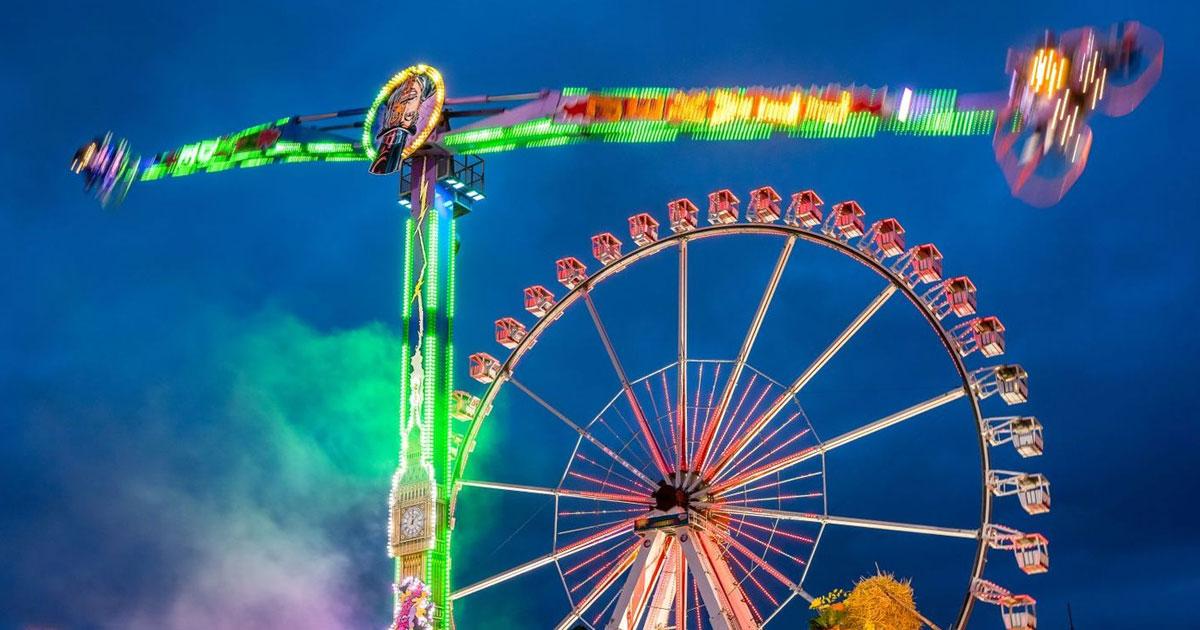 Hamburg feiert - beim Frühlingsdom von 22.03. bis 22.04.2019