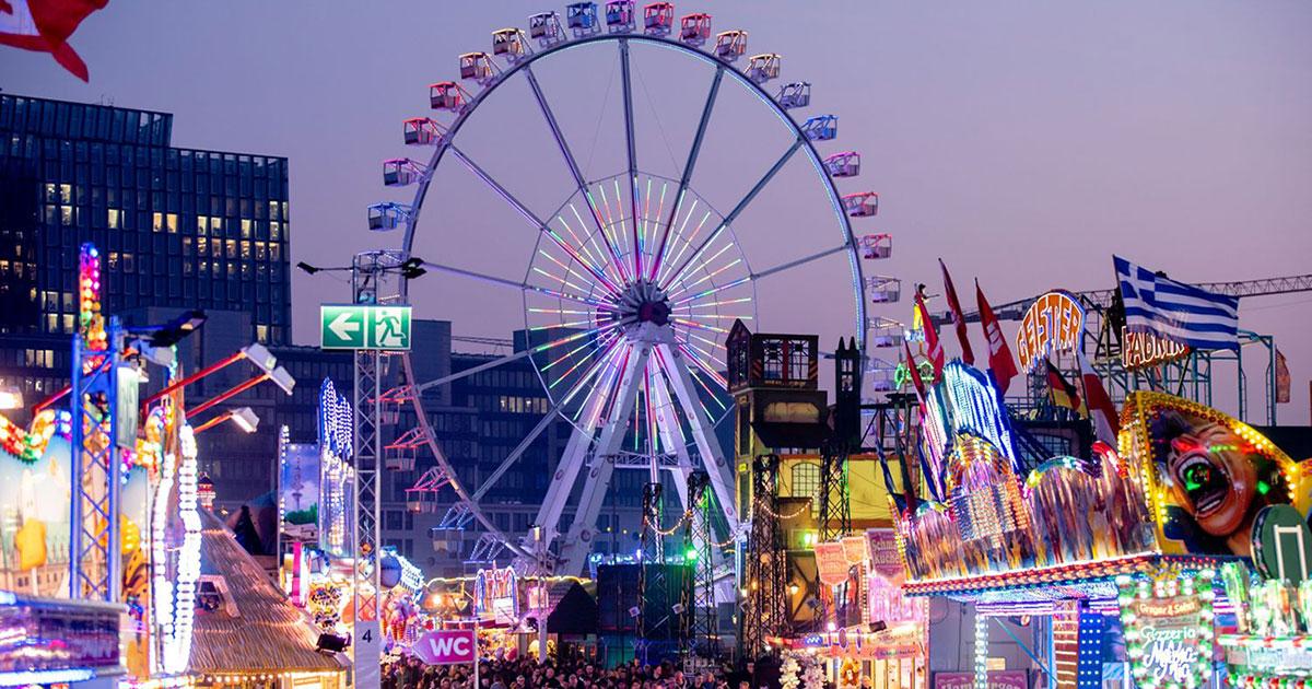 Hamburg feiert - beim Sommerdom vom 26.07. bis 25.08.2019