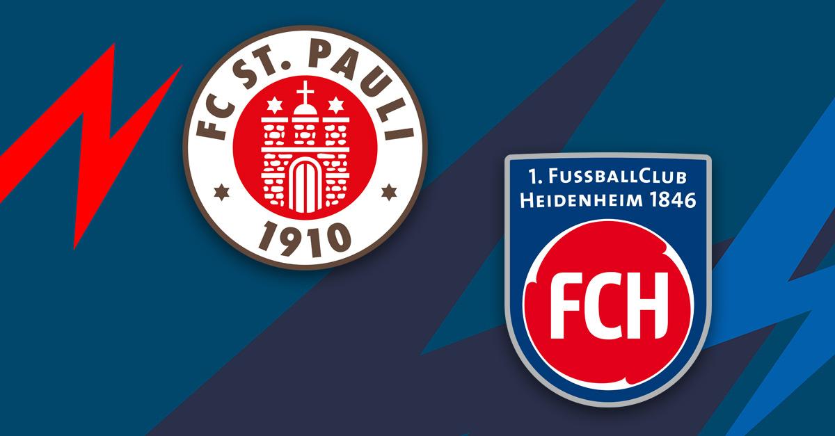 FC St. Pauli: Punkteteilung in rassigem Duell gegen Heidenheim