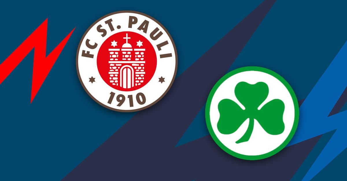 FC St. Pauli: 2:0 gegen Fürth - Kiezkicker weiter gut in Form