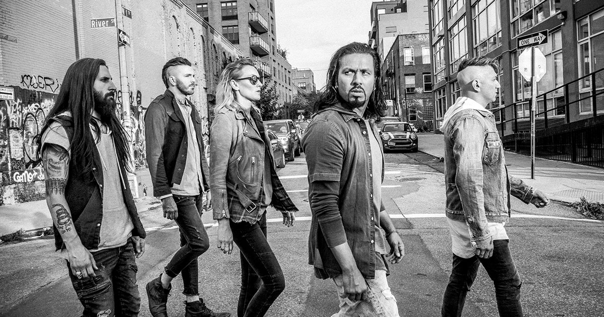 23.02.2019: Pop Evil / Hamburg