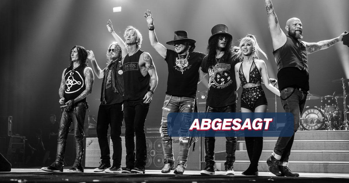 ABGESAGT: Guns N' Roses / Hamburg