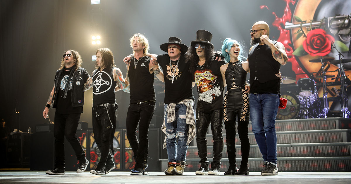 02.06.2020: Guns N' Roses / Hamburg
