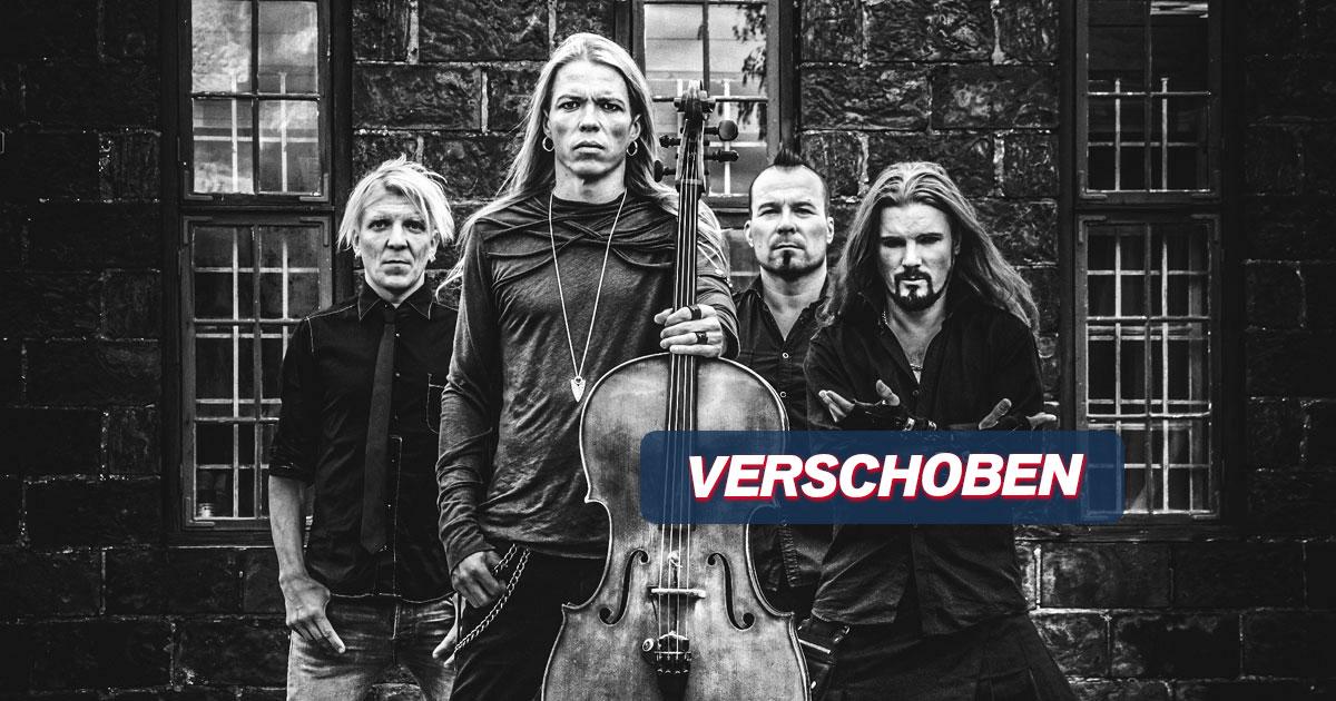VERSCHOBEN auf 03.03.2022: Apocalyptica & Epica / Hamburg