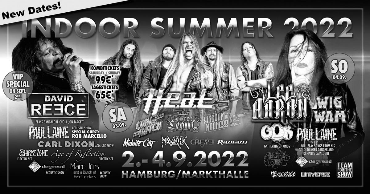 02.-04.09.2022: Indoor Summer / Hamburg