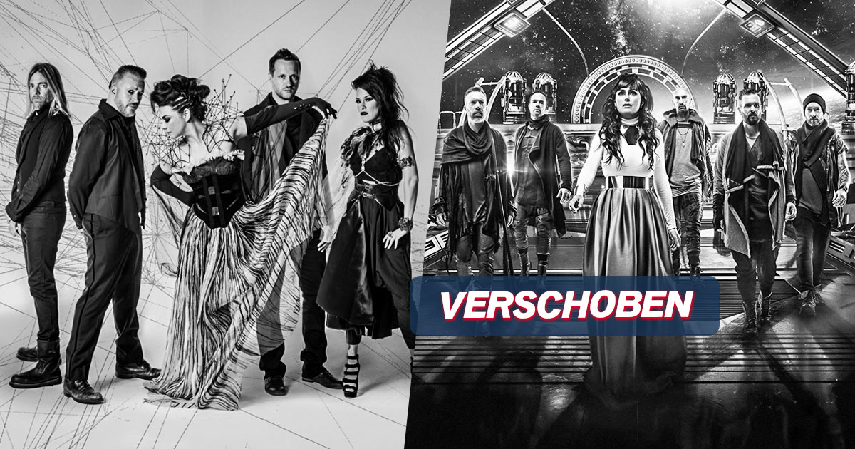 VERSCHOBEN auf 01.04.2022: Evanescence x Within Temptation / Hamburg