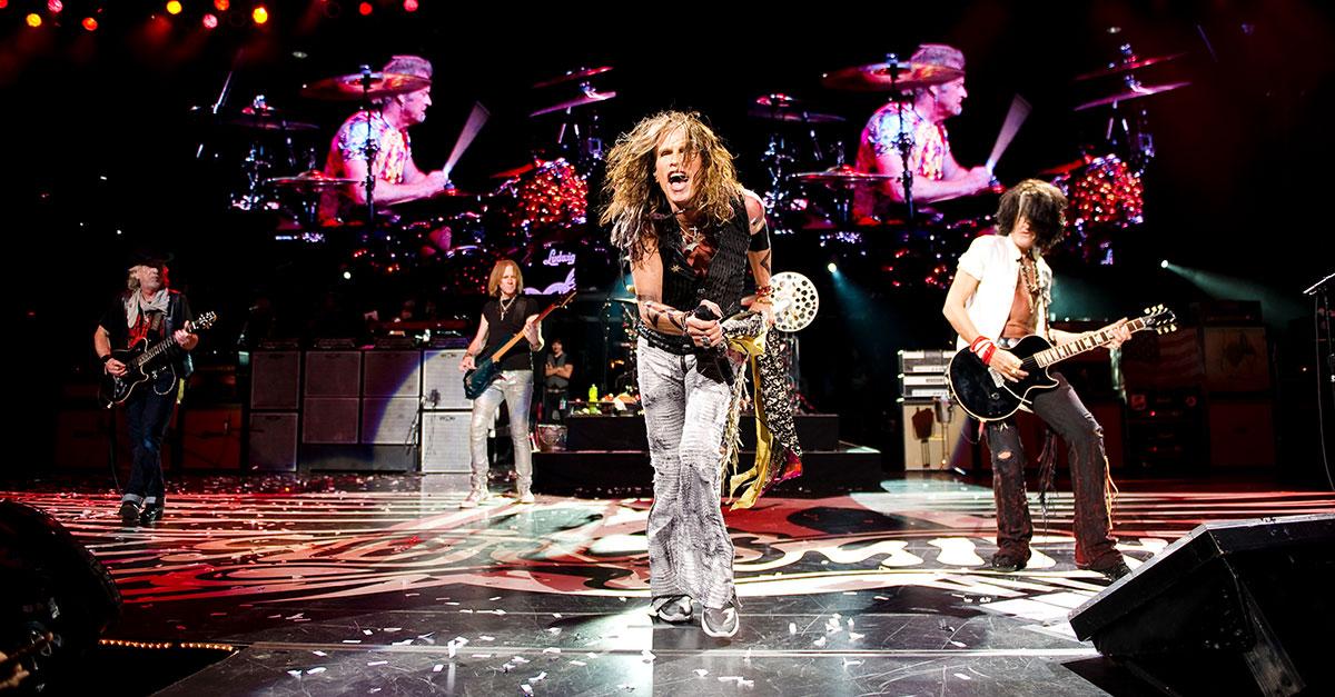 Aerosmith kommen auf Tour: Ein Konzert in Deutschland