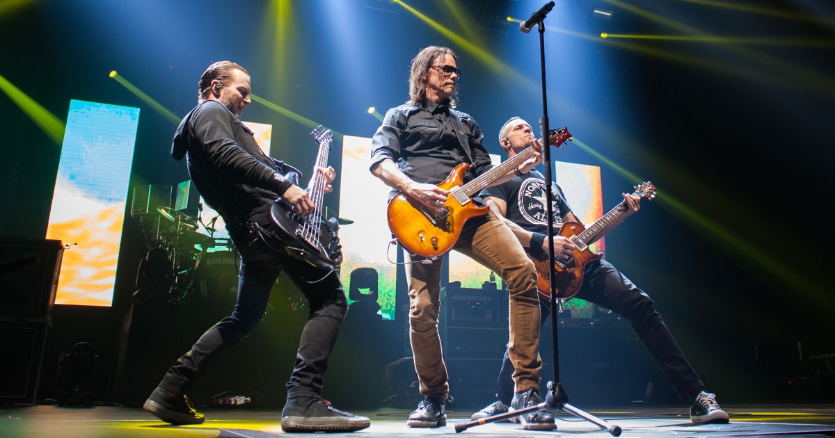 Alter Bridge live 2019: Die Fotos aus der Sporthalle
