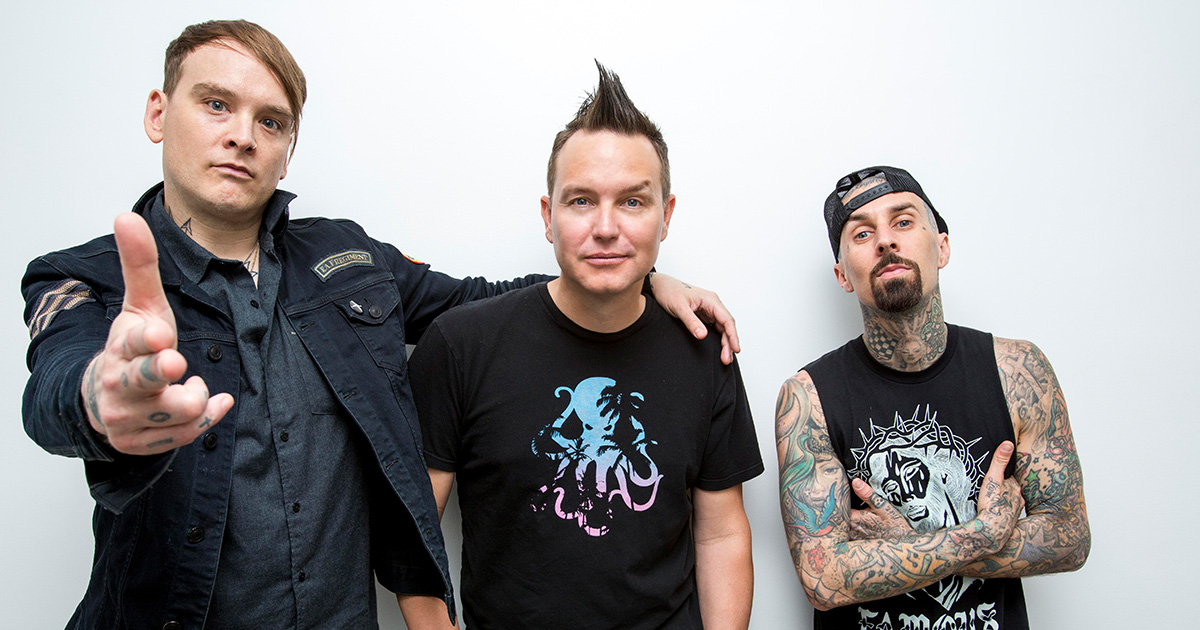 "Blink-182: Hört hier den neuen Song ""Darkside"""