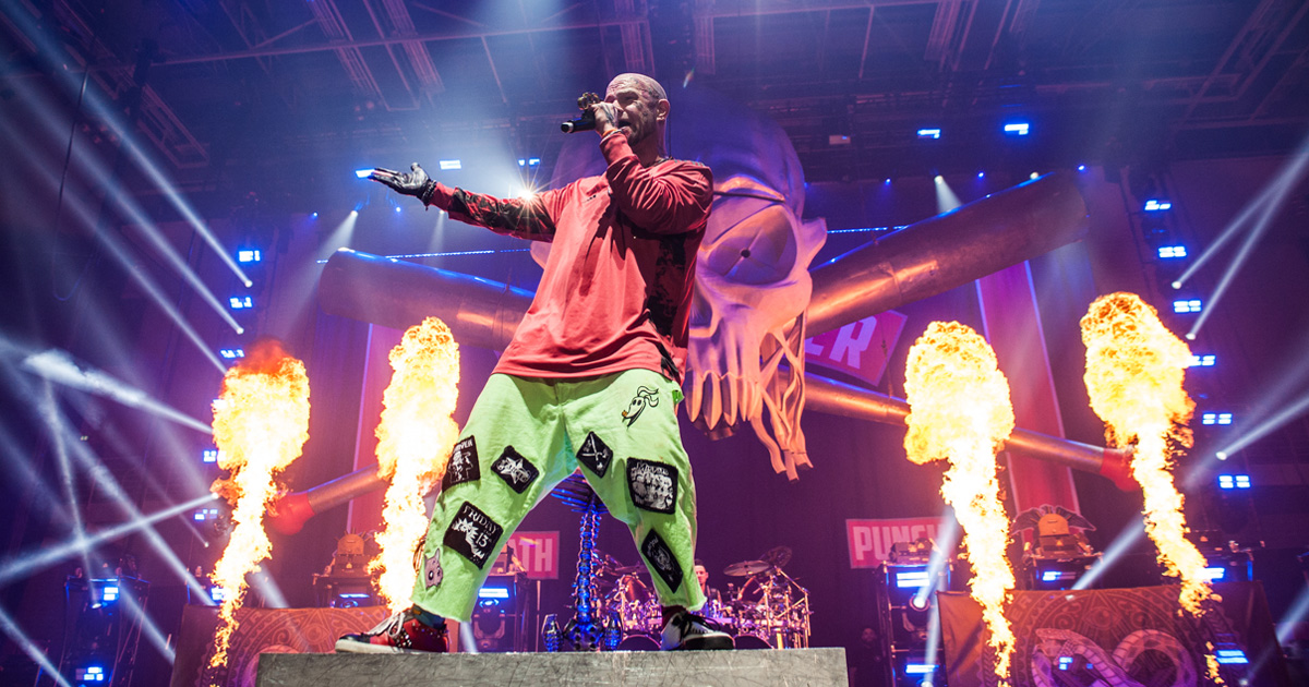 Five Finger Death Punch live 2020: Die Fotos aus der Sporthalle