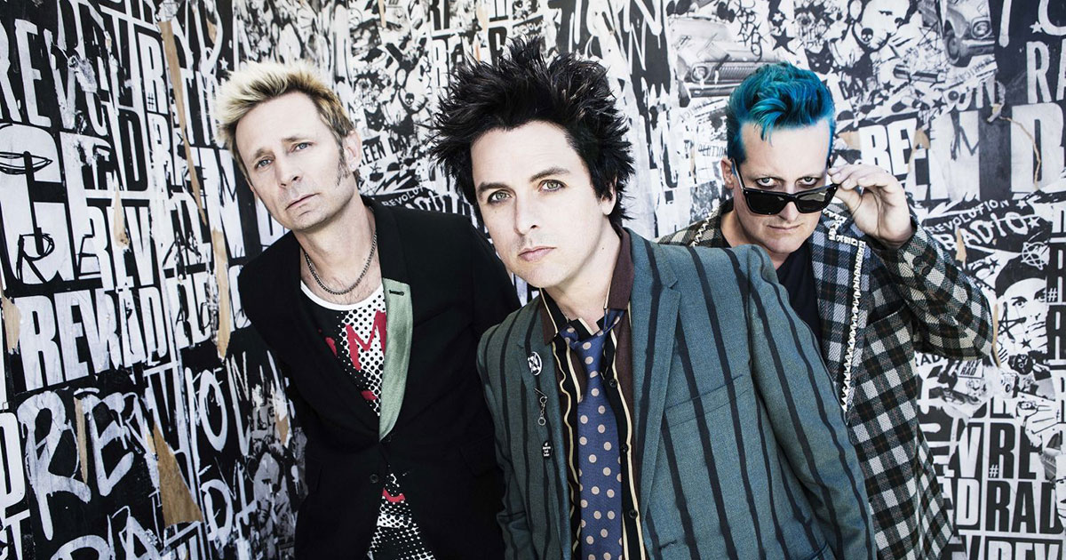 Green Day: Jetzt Tickets für die Tour mit Weezer und Fall Out Boy sichern