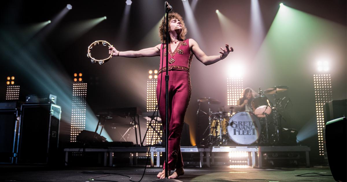 Greta Van Fleet live 2019: Die Fotos vom Konzert in München