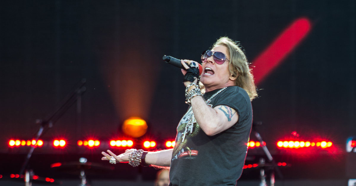 "Axl Rose: Das offizielle Video zum neuen Song ""Rock The Rock"""