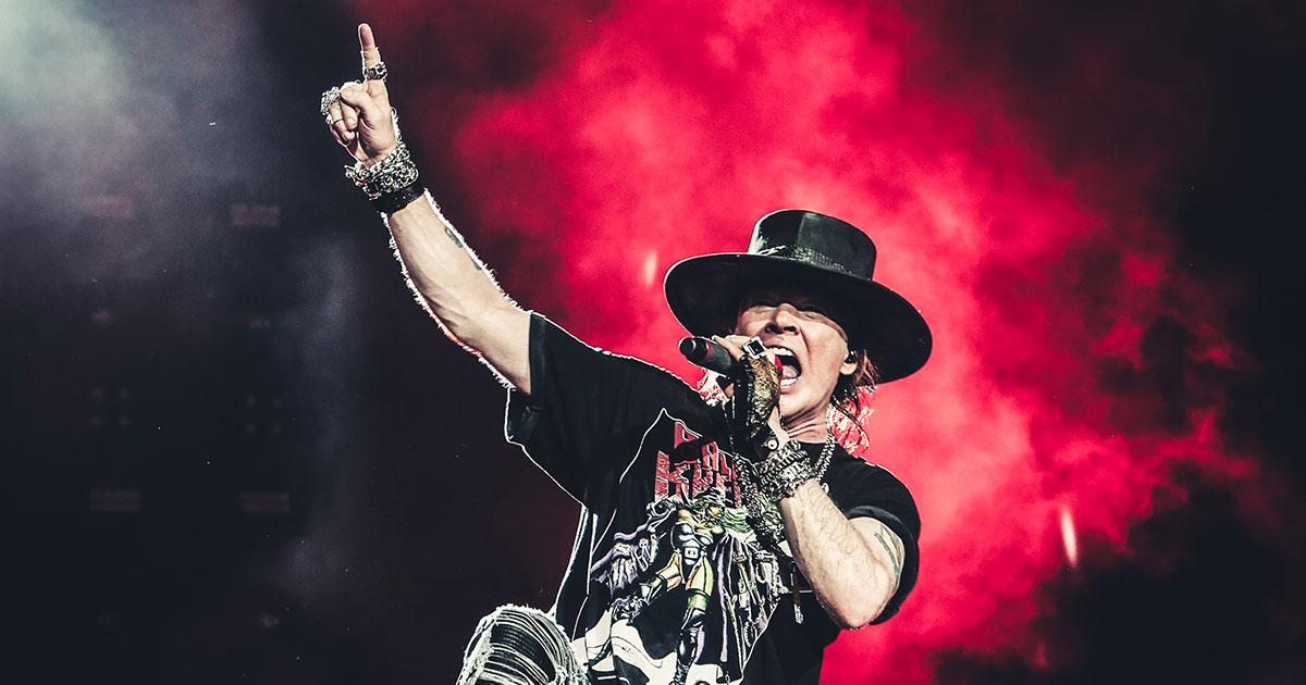 Axl Rose: Unser Porträt über den Guns N' Roses-Frontmann