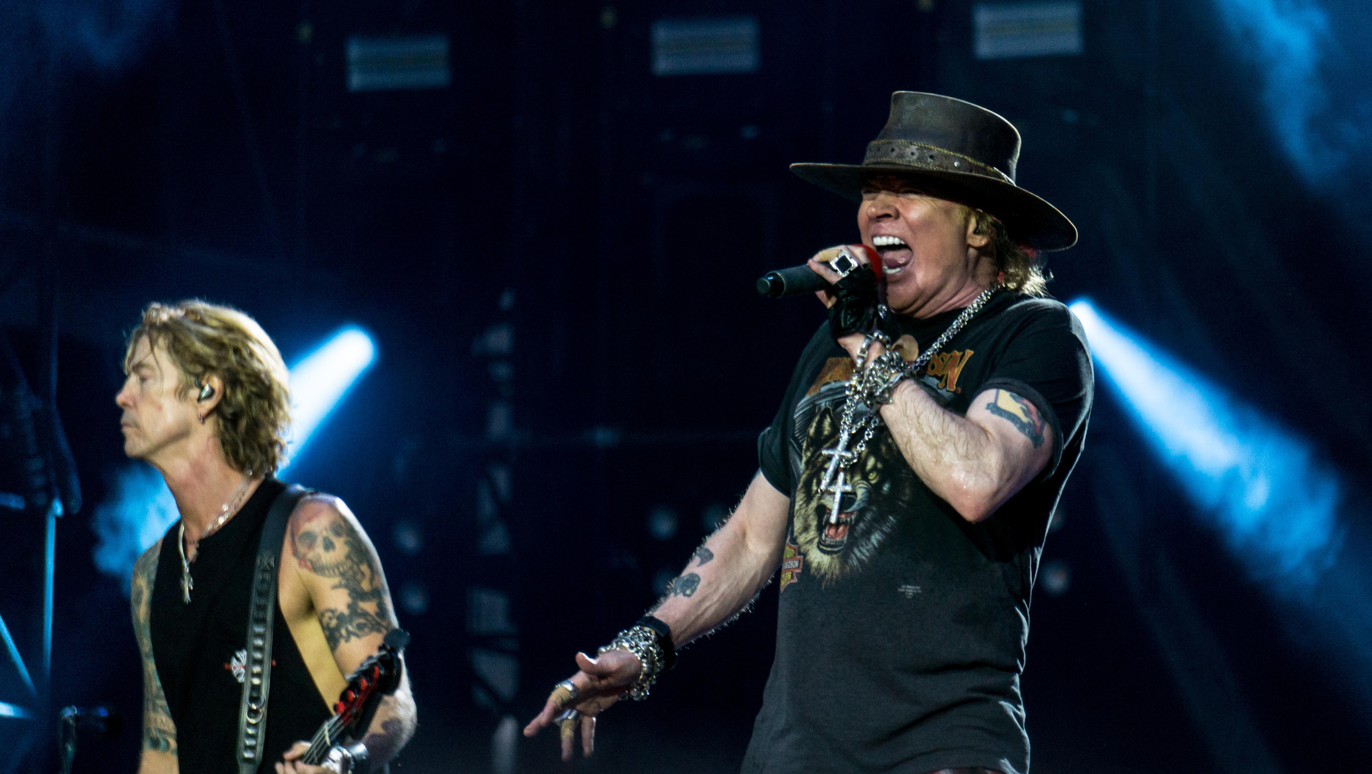 Guns N' Roses: Axl und Co. brechen Metallicas Rekord
