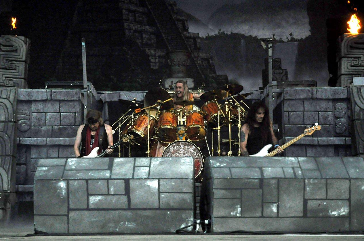 """Iron Maiden: Nicko McBrain will """"Alexander The Great"""" spielen"""