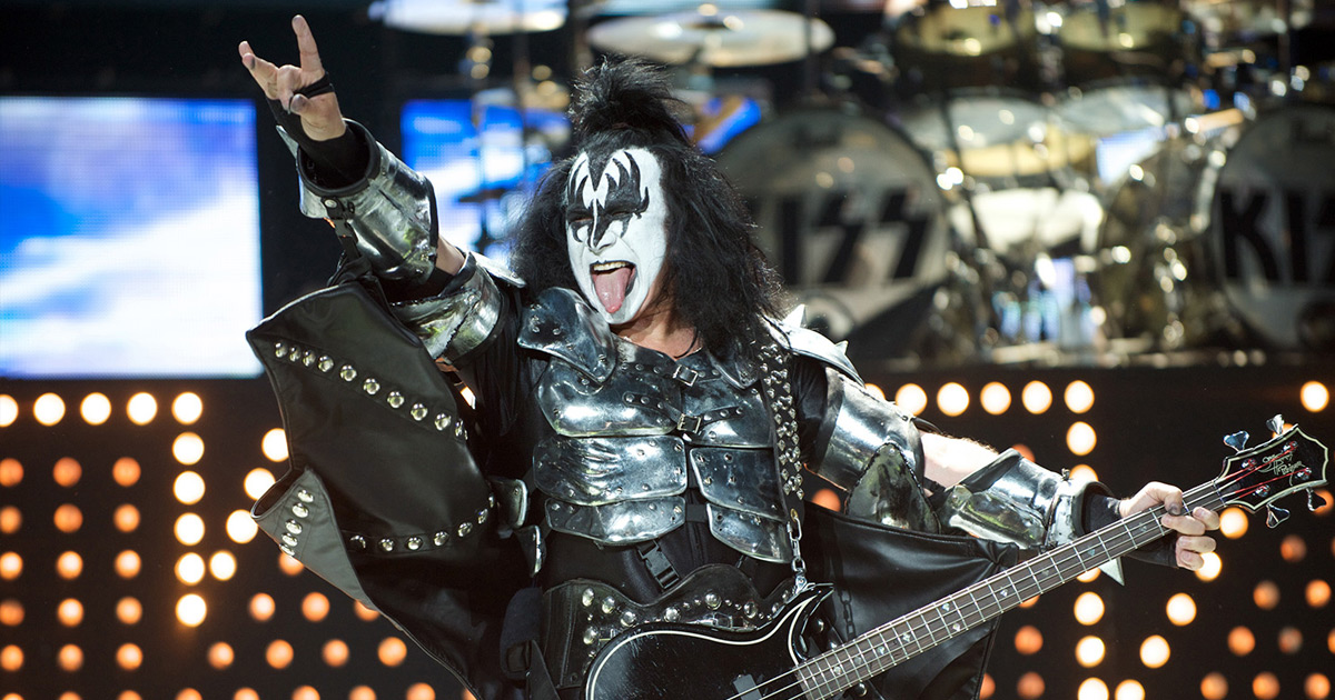 "KISS: Gene Simmons hasst ""I Was Made For Lovin' You"" immer noch"