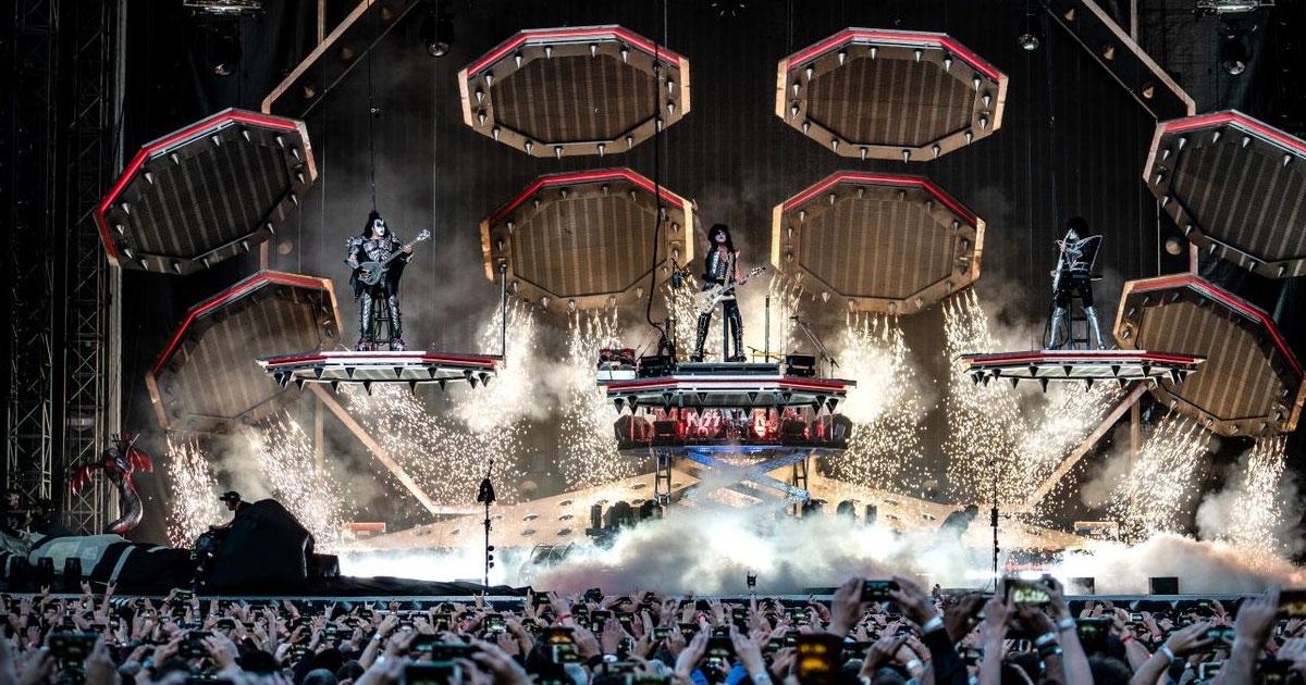 KISS-Konzert in Iffezheim: Fans dürfen zu Slayer