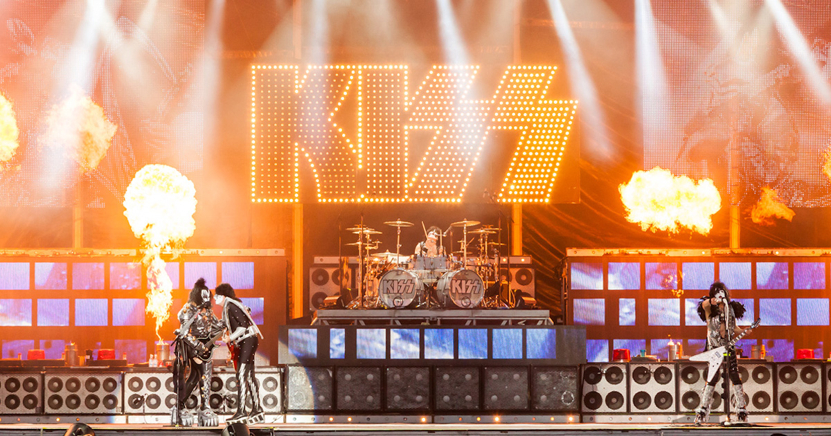 KISS: Konzert in Iffezheim wegen Unwetter abgebrochen
