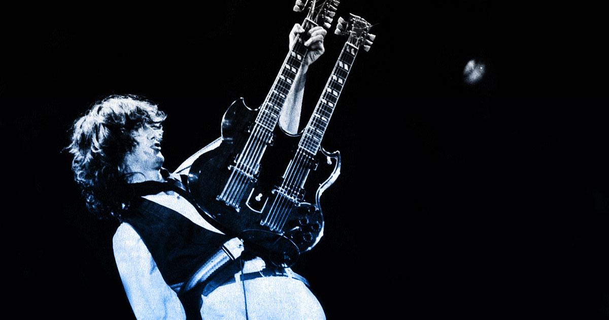 Jimmy Page: 8 Fakten über den Led Zeppelin-Gitarristen