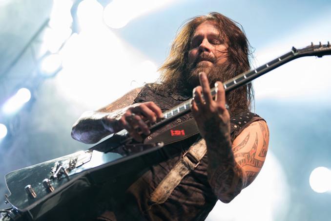 Slayer: Seht hier Phil Demmels Livedebüt in Kopenhagen