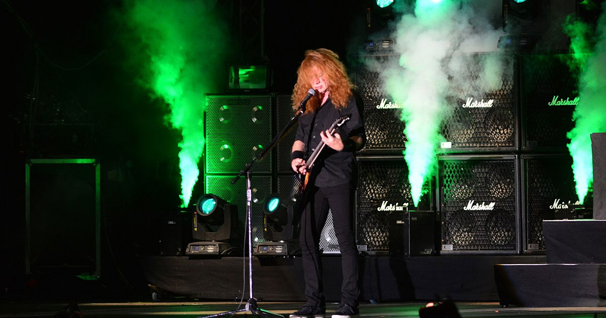 Megadeth: Dave Mustaine macht gute Fortschritte gegen den Krebs