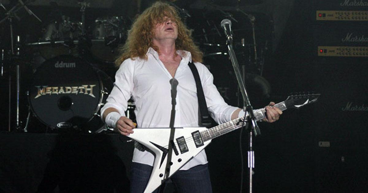Slayer-Abschied: Dave Mustaine wünscht sich letztes Big Four-Konzert