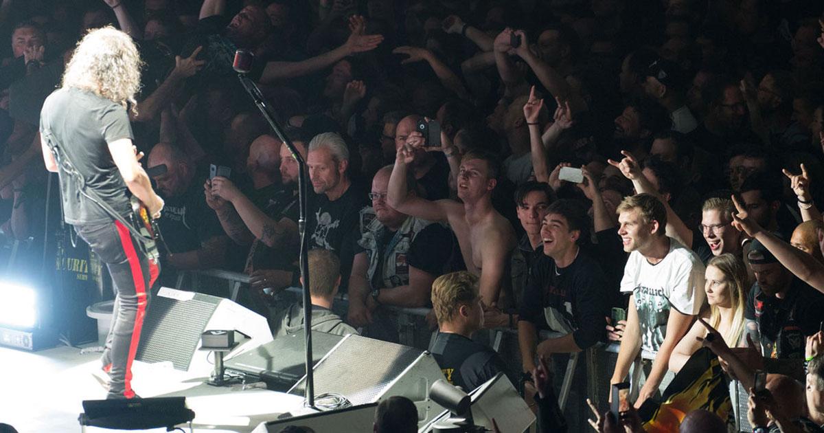 Metallica: Rammstein-Cover beim Konzert in Berlin