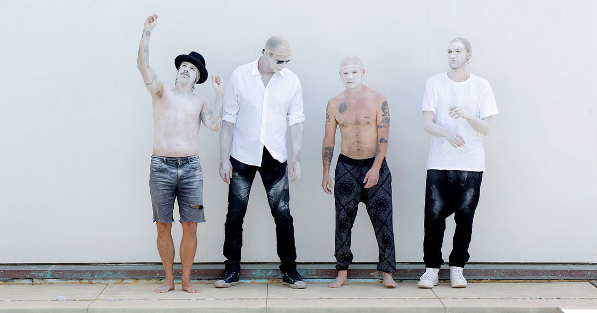 Red Hot Chili Peppers: Seht hier die Pyramiden-Show live im Stream