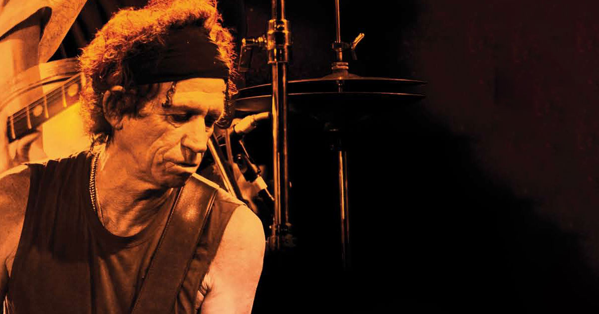 "Keith Richards wird 75: Unser Portrait - ""Keith In The Night""!"