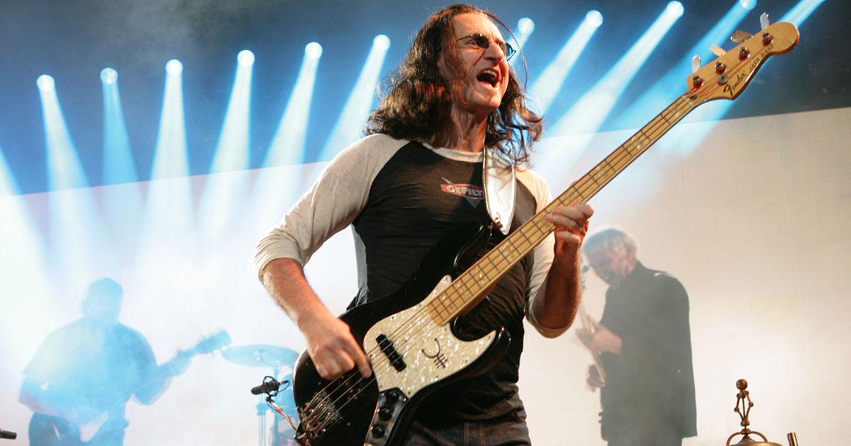 Rush: Geddy Lee versteigert seltene Gitarren