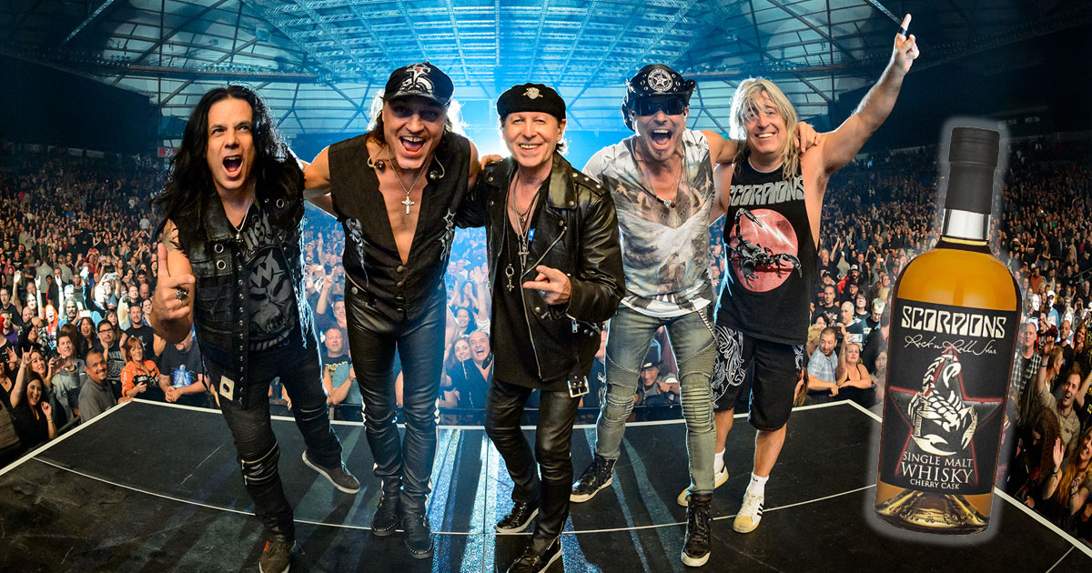 Scorpions: Band kreiert eigenen Rock'n'Roll-Whisky