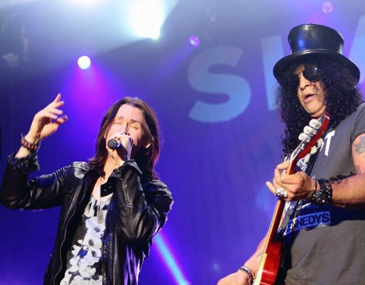 Slash: Die neue Single in der ROCK ANTENNE Hamburg Radiopremiere