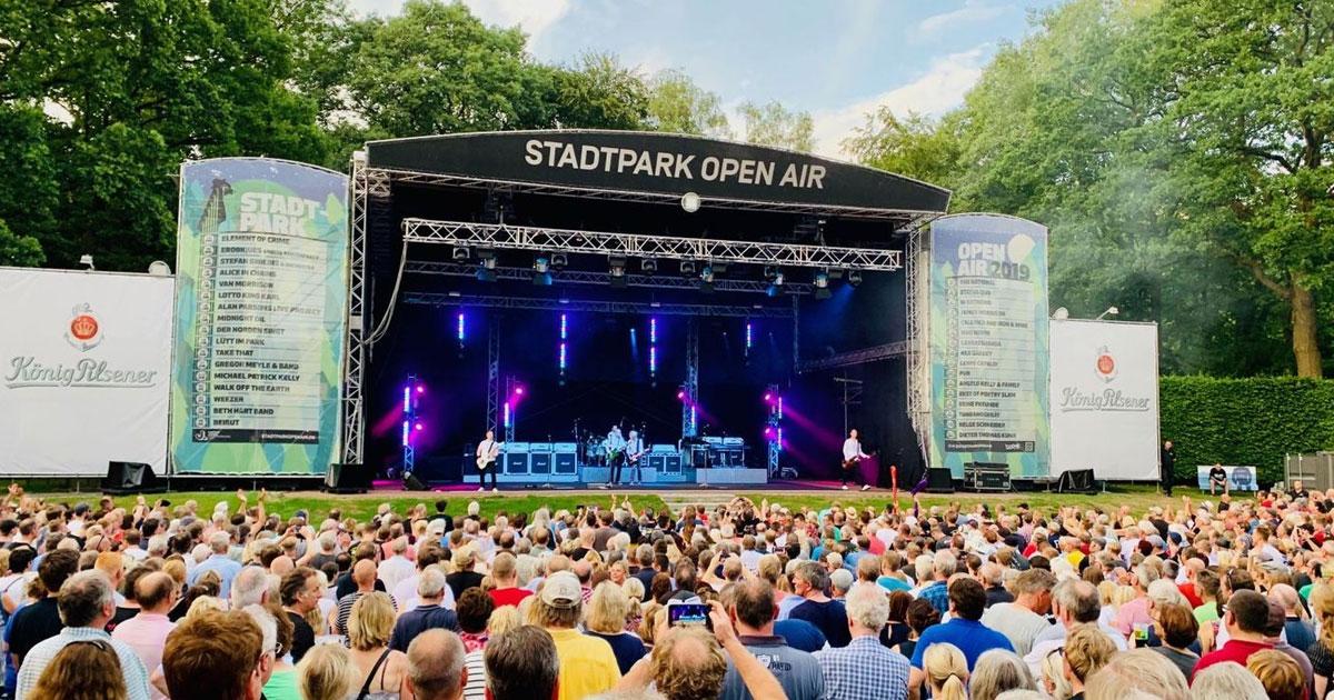 Status Quo live: Die Fotos von der Kultrock-Show im Stadtpark