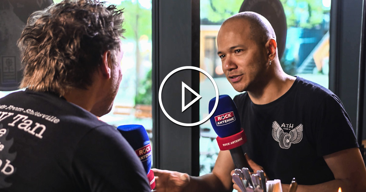 Danko Jones - A Rock Supreme 2019: Das ROCK ANTENNE Hamburg Interview