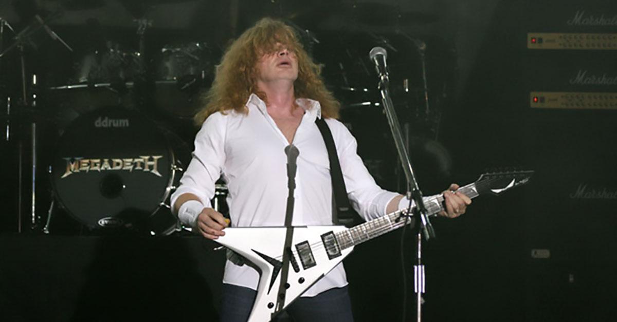 Megadeth: Dave Mustaine spielt Überraschungs-Gig