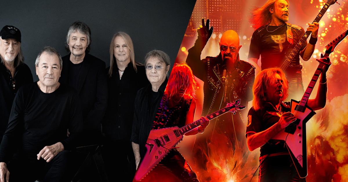 Deep Purple und Judas Priest gemeinsam auf Tour