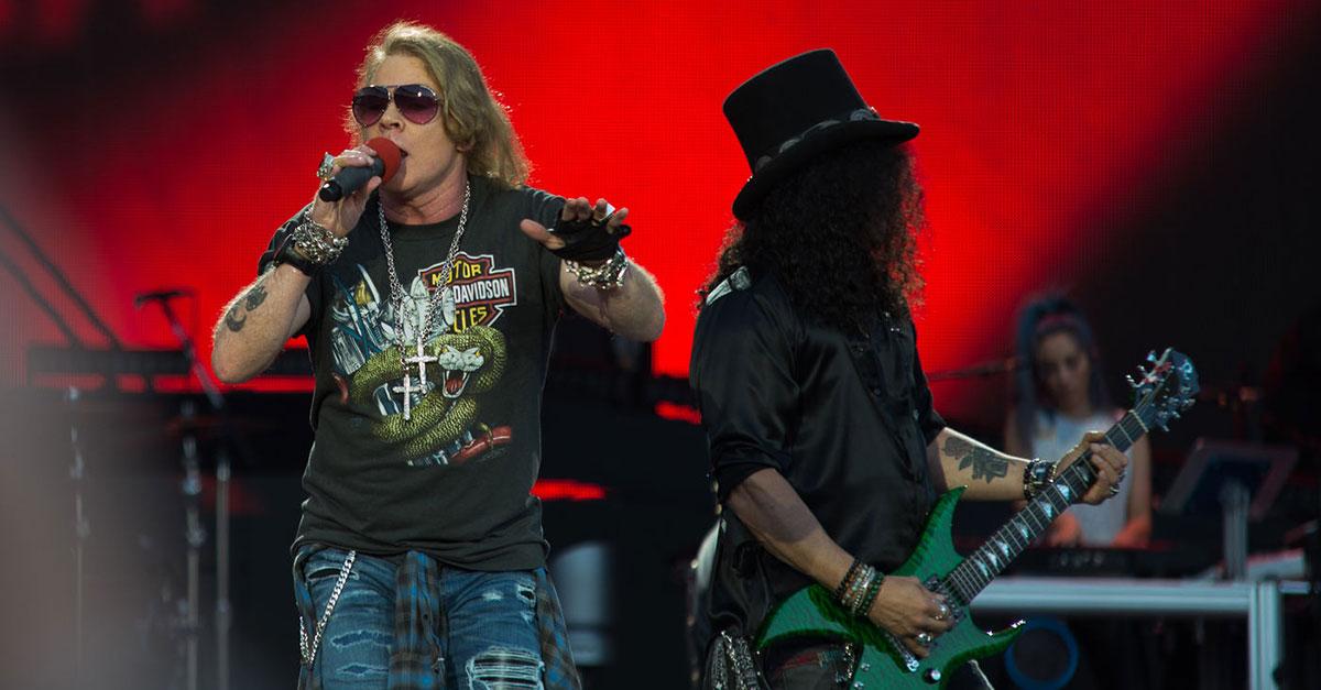 Schnäppchen: Guns N'Roses und Queen für 35 Euro