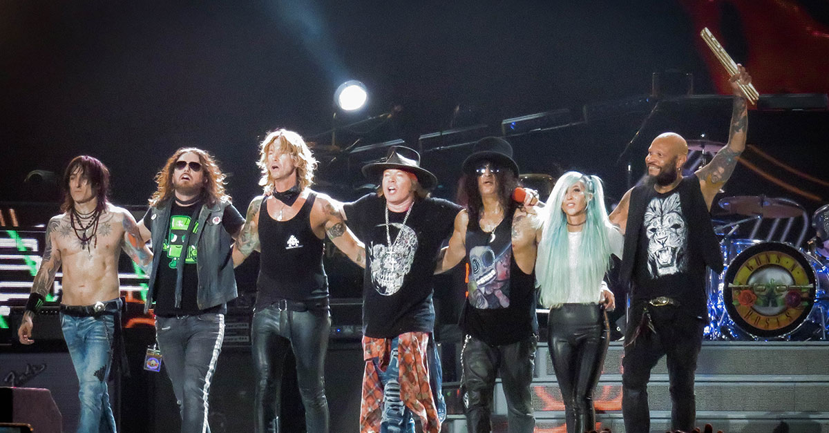Guns N'Roses: So war der Start der Europatour in Berlin