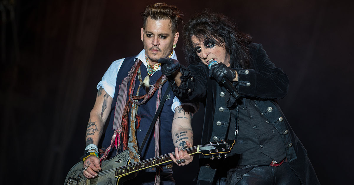 Hollywood Vampires: Johnny Depp singt David Bowie