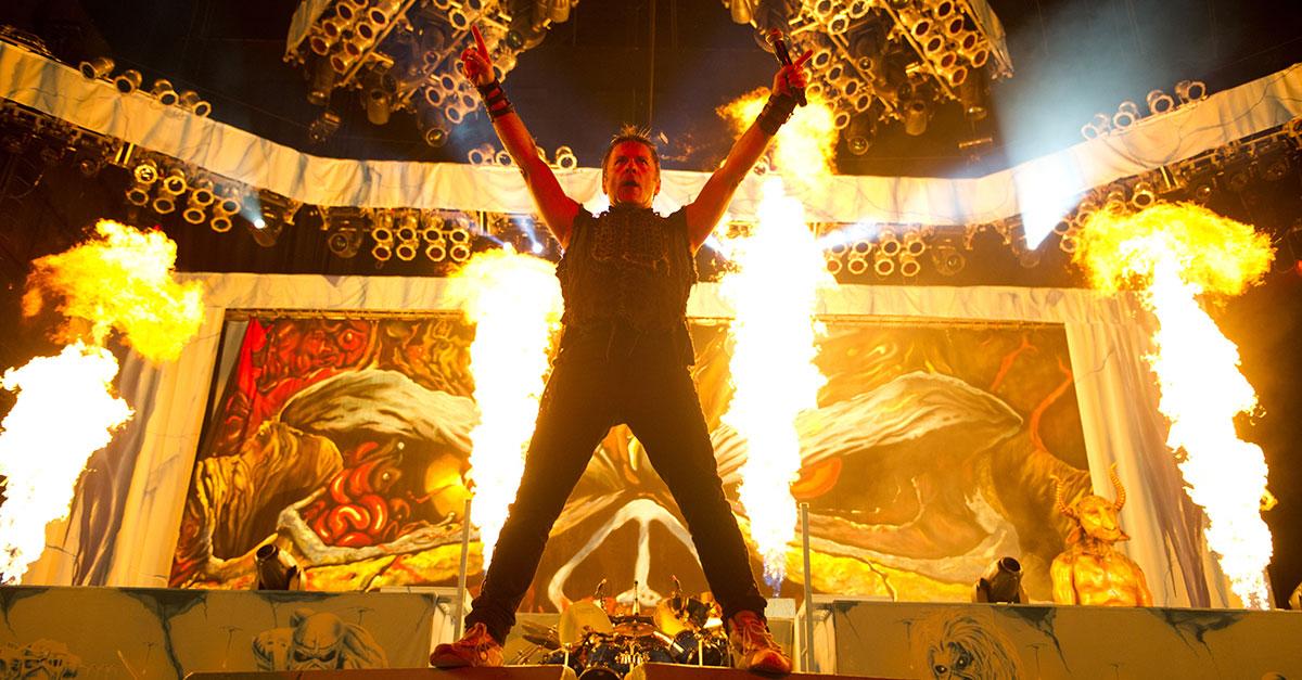 Iron Maiden: Gigantische Europa-Tour ist gestartet