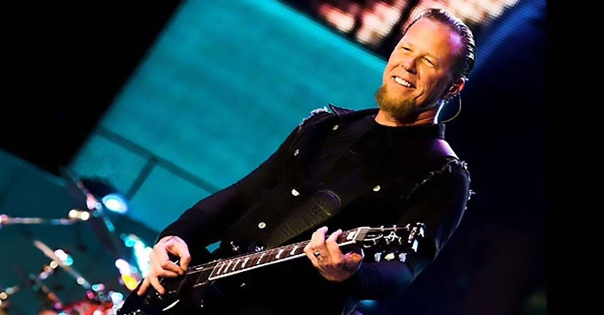 Metallica: James Hetfield jammt Ghosts Grammy-Song