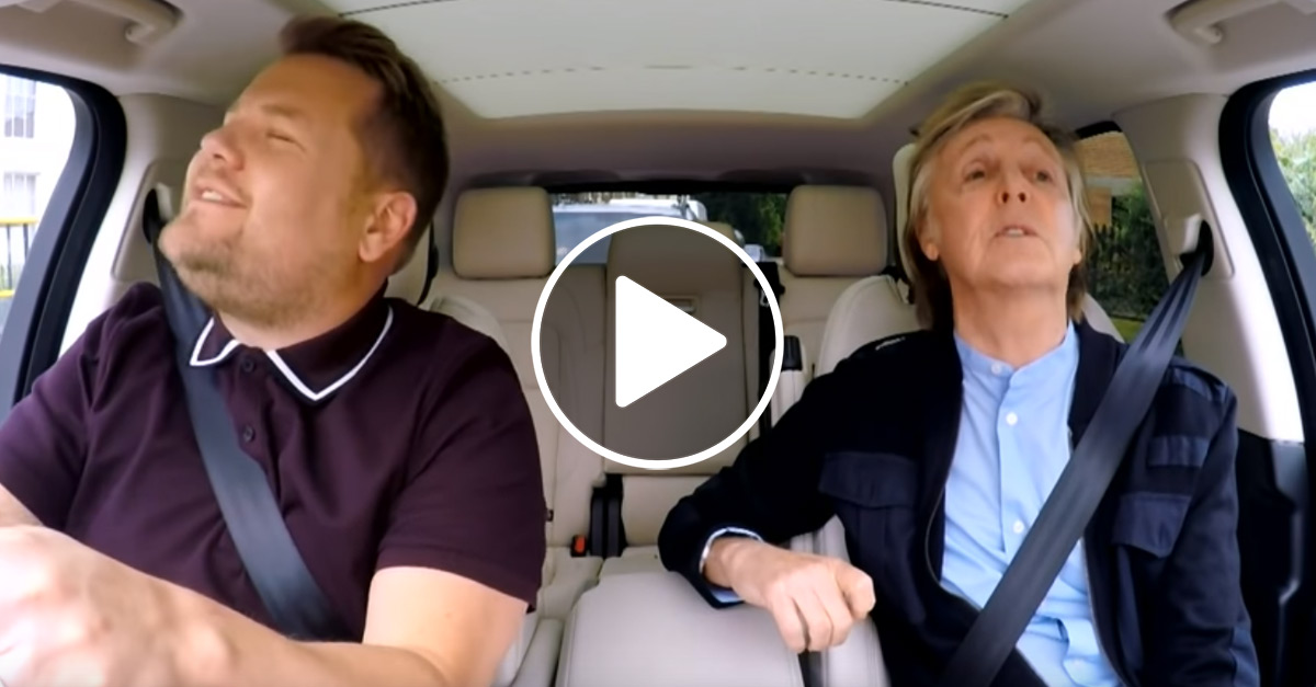 Paul McCartney: Carpool Karaoke mit dem Ex-Beatle