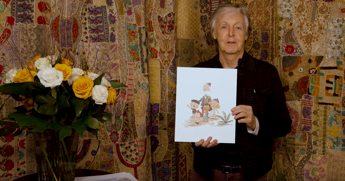 Paul McCartney: Ex-Beatle schreibt Kinderbuch