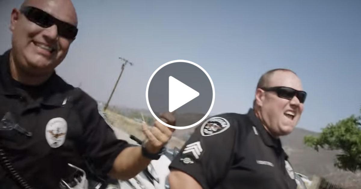 """Sammy Hagar: Polizei geht mit Video zu """"I Can't Drive 55"""" viral"""